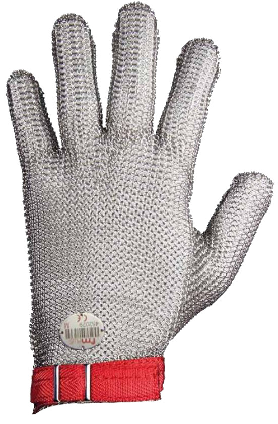 Stainless Steel Cut & Puncture Resistant Safety Chainmail Glove