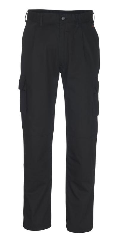 Mascot 07479-330-01 Pasadena Black Trousers W Knee Pad Slots