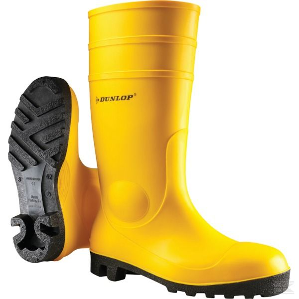 Dunlop 142Yp Protomaster Yellow Safety Wellington