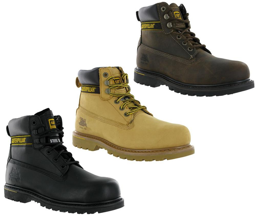 Caterpillar Holton SB Slip-Resistant Safety Boots