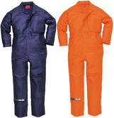 Portwest BZ40 Bizweld Moleskin Antistatic 450gm Coverall