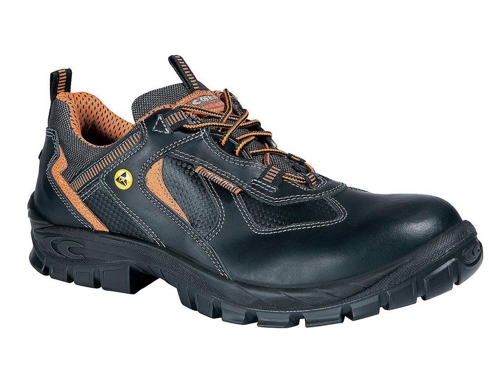 Cofra Hodur S3 ESD SRC Metal Free Black Safety Shoe