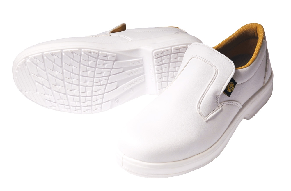 Safeway E301 White Shoe Slip On Non Safety ESD Shoe Style