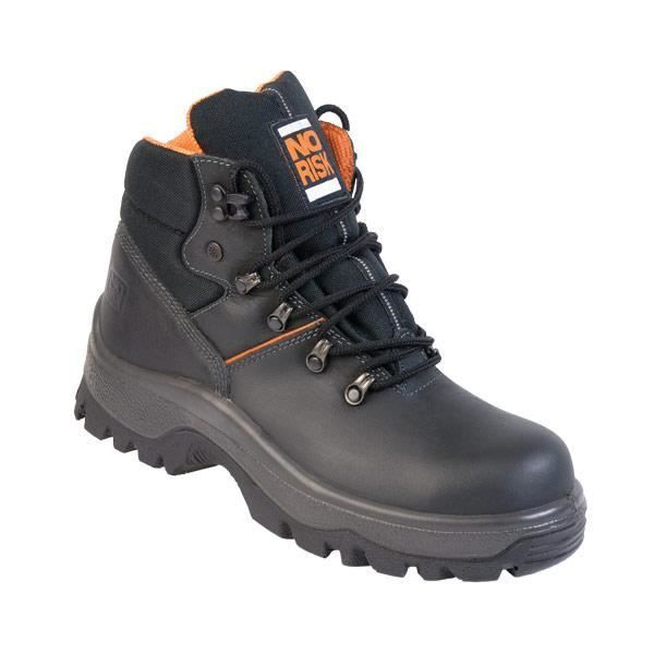 No Risk Armstrong S3 Safety Boot Black 2095