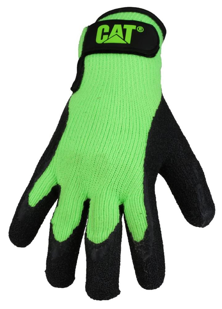 Caterpillar CAT 17417 Unisex Latex Palm Work Gloves