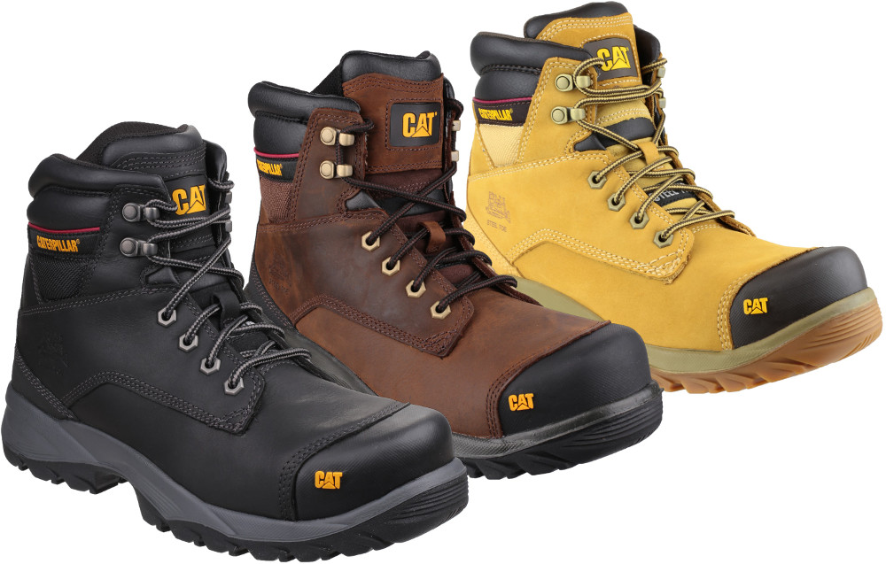 Caterpillar Spiro Hi Honey S3 Safety Work Boot