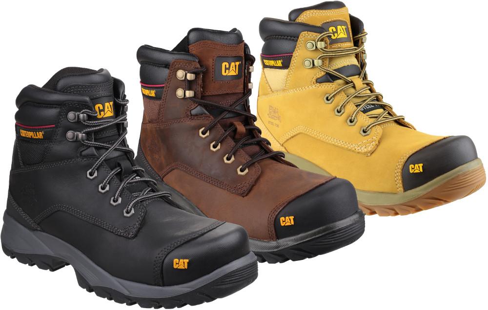 074dcfee856 Caterpillar Spiro Hi Honey S3 Safety Work Boot