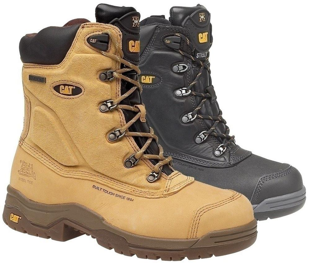 Caterpillar Supremacy Waterproof Side Zip Safety Boots