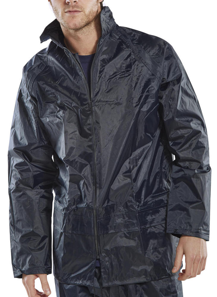 Nylon Navy Pacific Nbdj Jacket