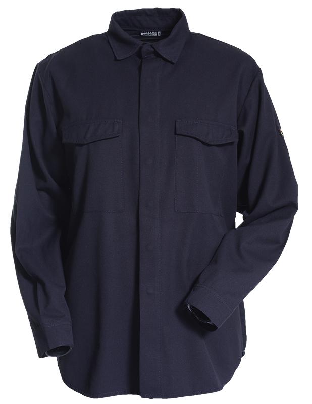 Tranemo 8120 Flame Retardant Navy Shirt