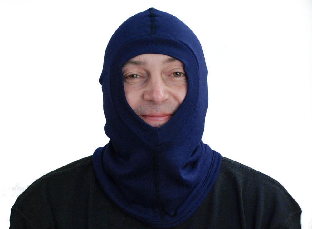 Flash Hood Kermel Lenzing Modacrylic Three Layer Balaclava ETF313KM Navy