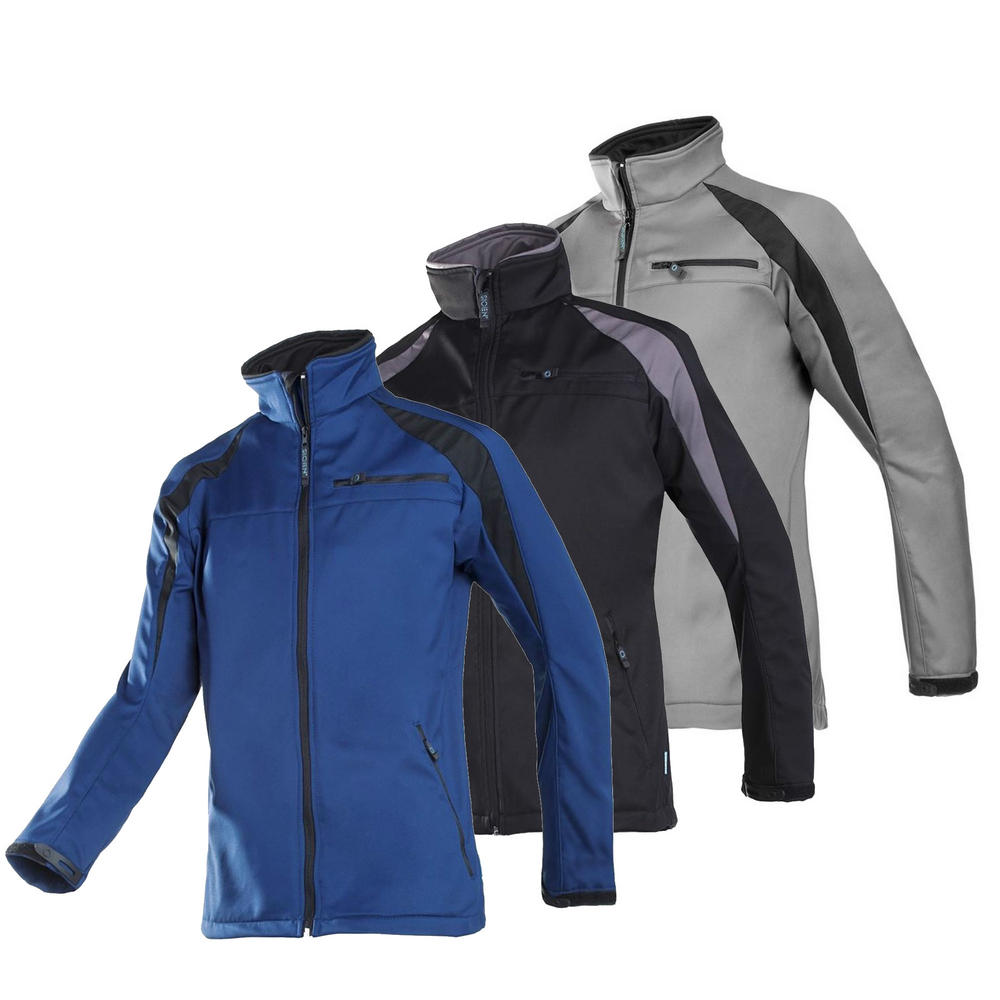 Sioen 9834 Piemonte Softshell Jacket Work Fleece 2 Layers Bond
