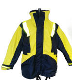 Mullion FMJD Flotation Jacket Yellow Navy, Size - X Large