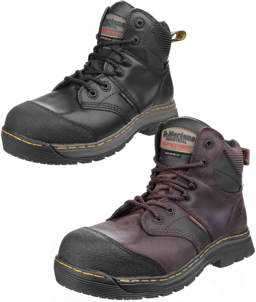 Dr Martens Surge ST 6 tie Waterproof Metal Free Safety Boot