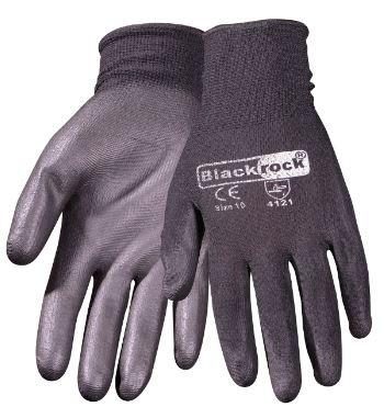 Blackrock 843010X PU Coated Gripper Glove En388 4.1.2.1