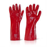 Click 2000 PVCR16 PVC Coating General Handling Glove Wet & Oily Grip 16'' - 40cm