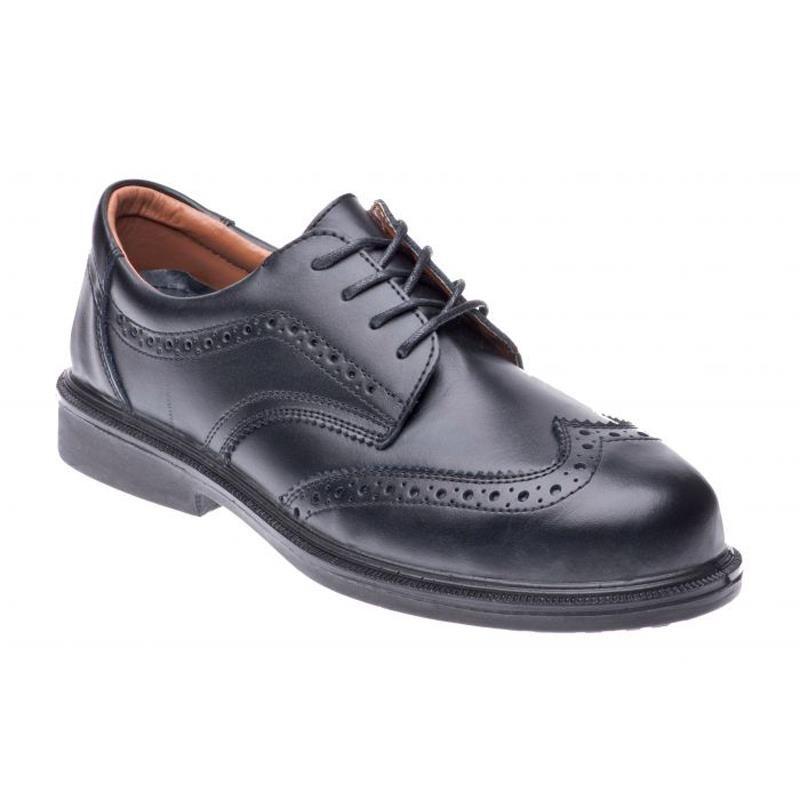 Cofra Bell Full Grain Leather Steel Toe Cap Breathable S1 Safety Shoe