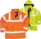 Portwest S778 Bizflame Rain Hi-Vis Breathable Antistatic FR Jacket