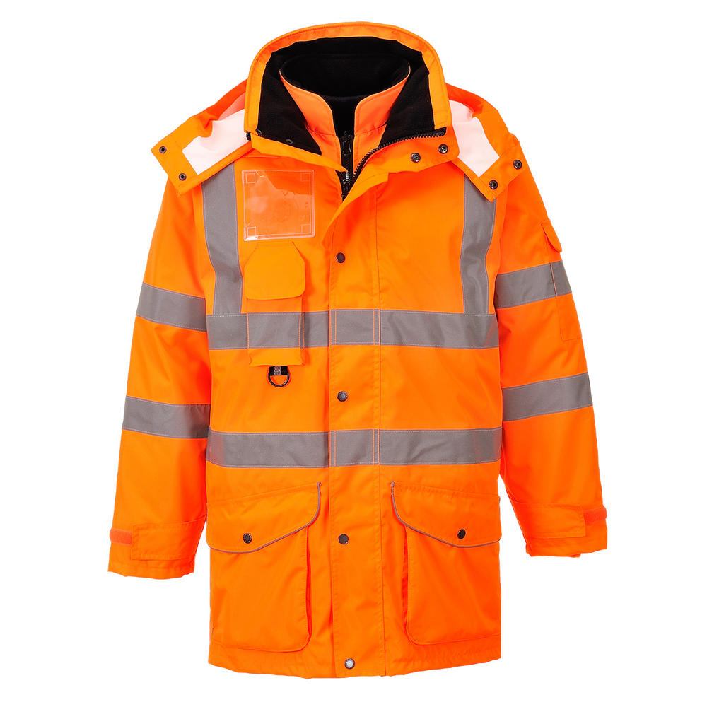 Portwest RT27 7 in 1 Waterproof Hi Vis Jacket