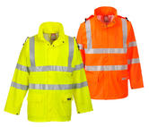 Portwest FR41 Sealtex Flame Hi-Vis Jacket Orange/Yellow