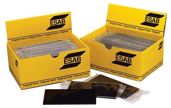 ESAB Welding Glasses 60 X 110mm 8 DIN Shade 8, Box of 25 Units
