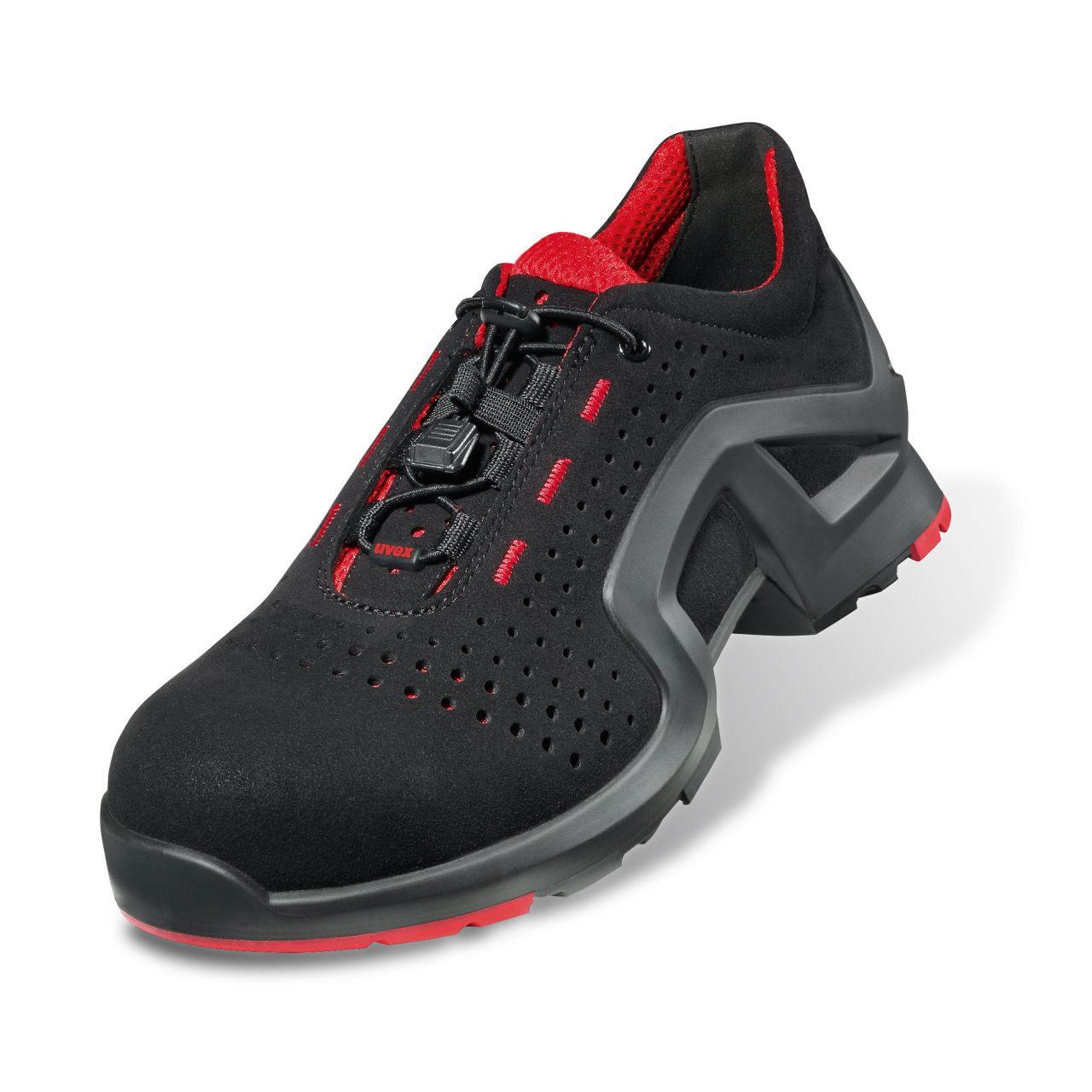 8cb3e0c57 Shoe Trainer Black Red S1 Src 8512.8 Uvex