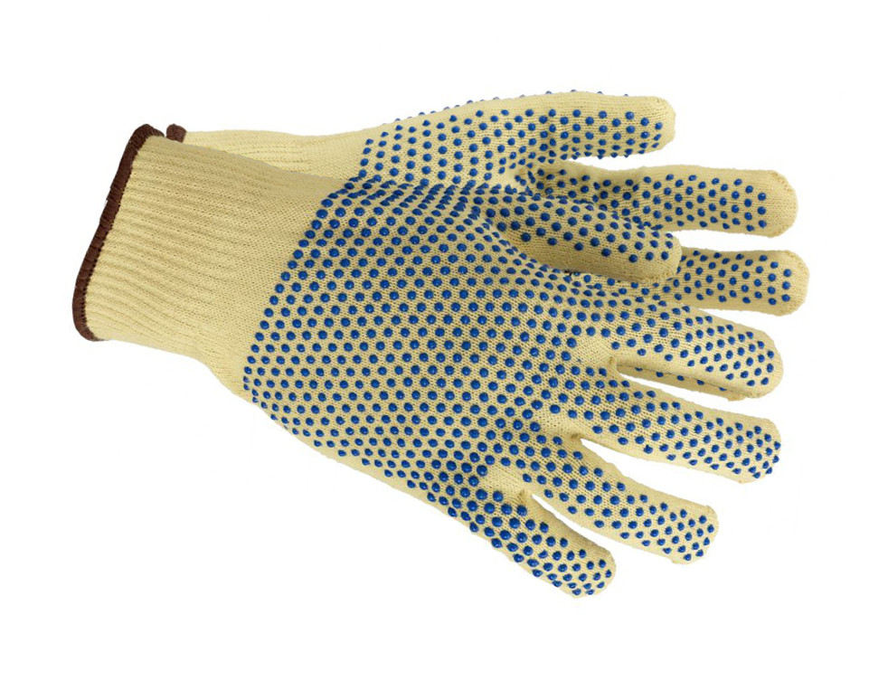 Ansell 70-325 Neptune Kevlar Cut 3 PVC Dots Extra Grip Cut Resitant Glove