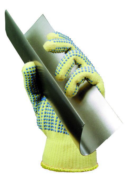 Ansell 70-345 Neptune Kevlar Cut 5 PVC Dots Extra Grip Cut Resitant Glove