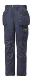 Snickers 3214 Kneepad Pockets Craftsmen Holster Pocket Navy Trouser