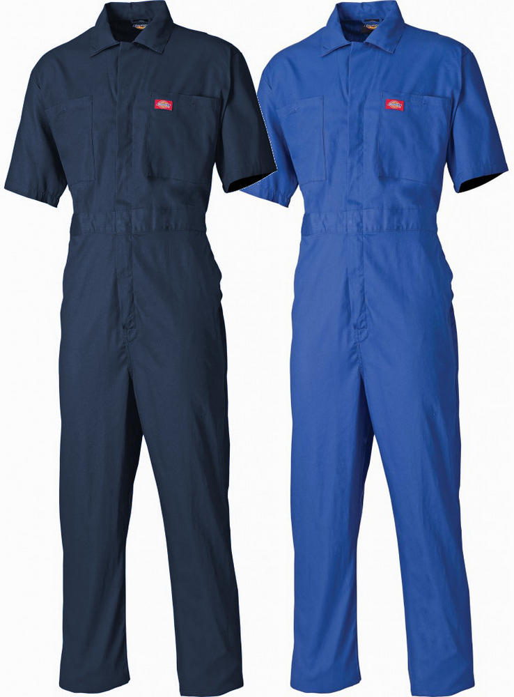 Dickies WD2299 Shorth Sleeve 100% Cotton Work Coverall