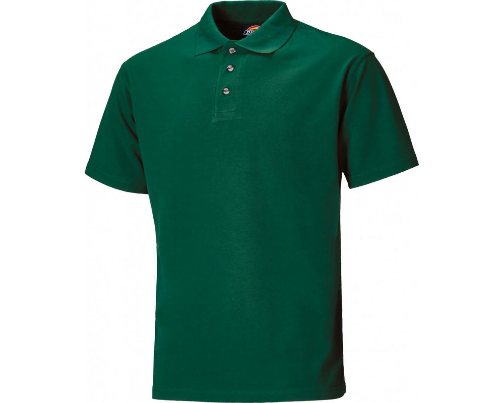 Dickies SH21220 Bottle Green Polo Shirt SH21220