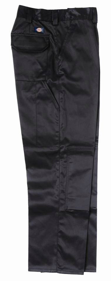 Dickies GR43100 Grafter Black Cargo Trousers, Size - 44""