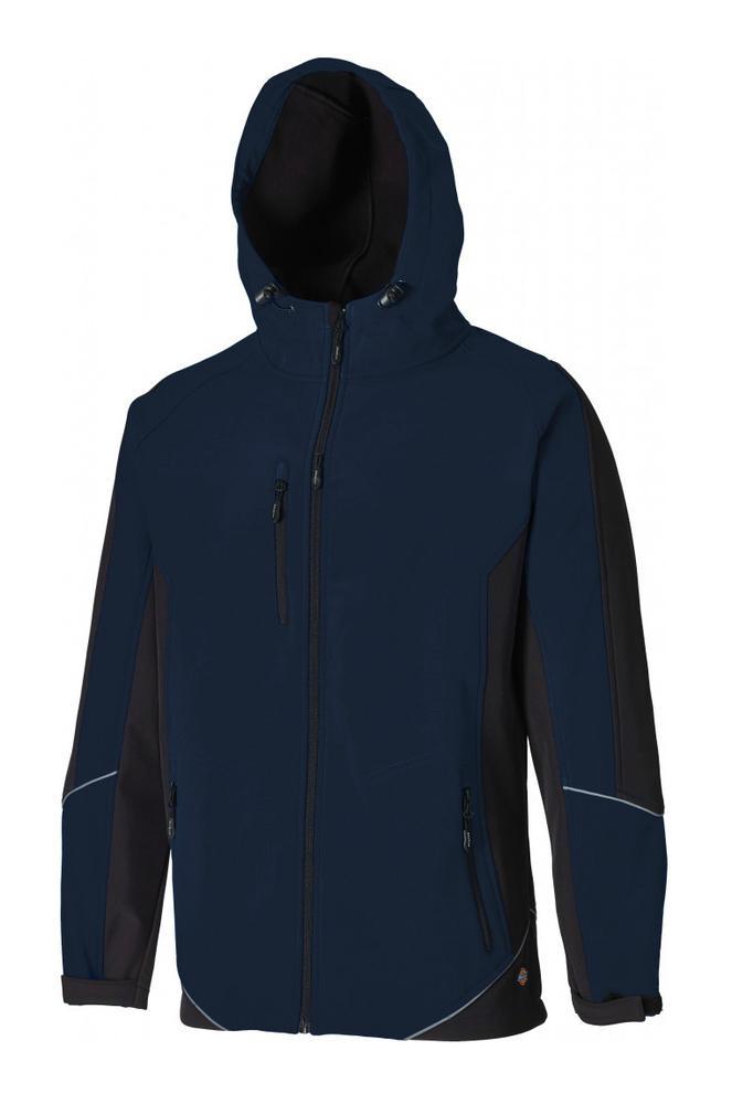 Dickies Two Tone Softshell Jacket JW7010 Water Resistant Rain Softshell Jacket