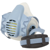 Scott Safety Profile-2 Low Profile Twin Filters Half Mask Reusable Respirator, Size - Medium