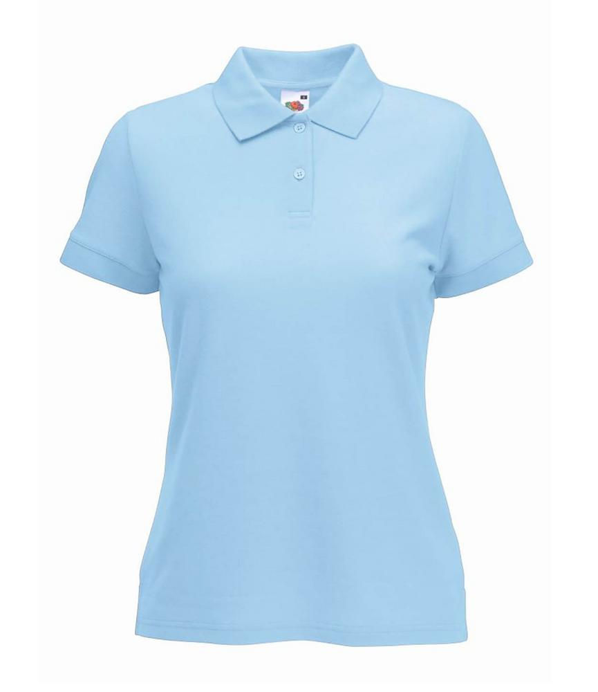 Fruit of the Loom SS86 Polycotton Short Sleeve Ladies Polo Shirt