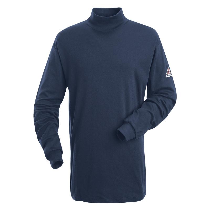 Bulwark FR Sweatshirt Turtle Neck FR Arc Resistant Navy Sek2Nv