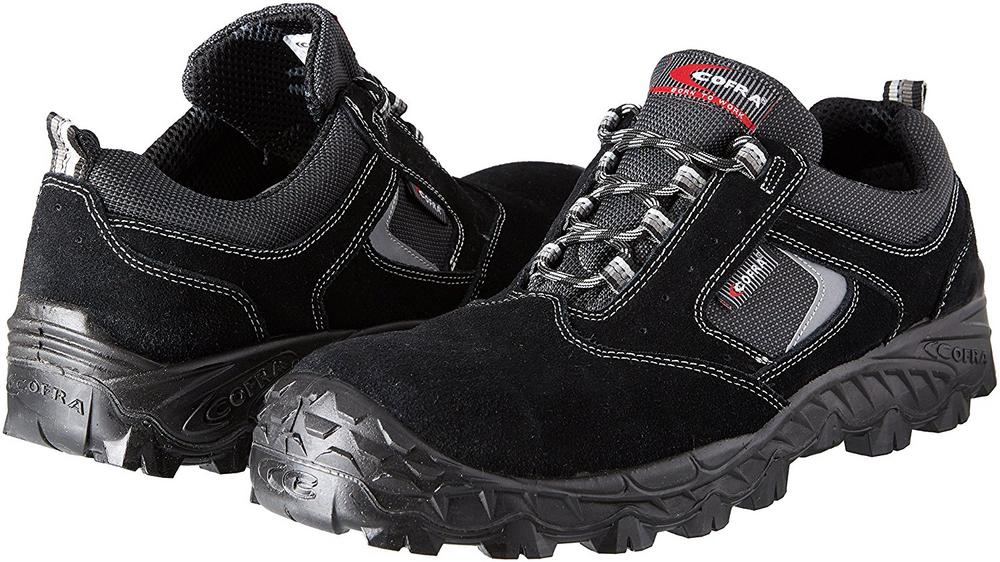Cofra New Suez Safety Metal Free Trainer S1P Black