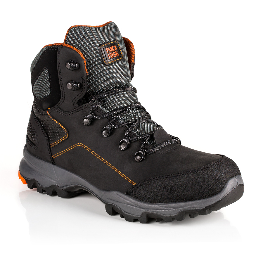 No Risk Discovery Black S3 Src Leather Boot