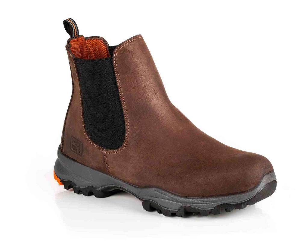 No Risk Nasa  S3 Src Brown Dealer Boot