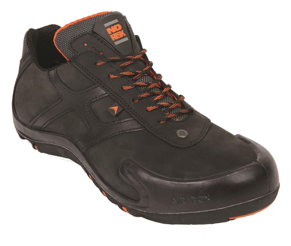 No Risk Corvette S3 Src  Black Safety Shoe