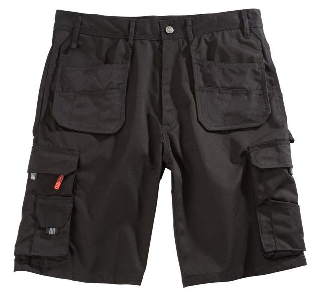 Blackrock BRWS Hebden Work Shorts - Black Cargo Cordura