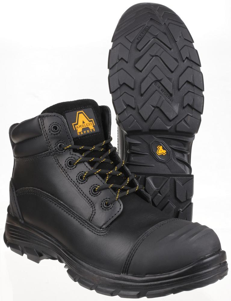 Amblers Safety As201 Quantok S3 Pu/Rubber Safety Boot HRO+SRC S3