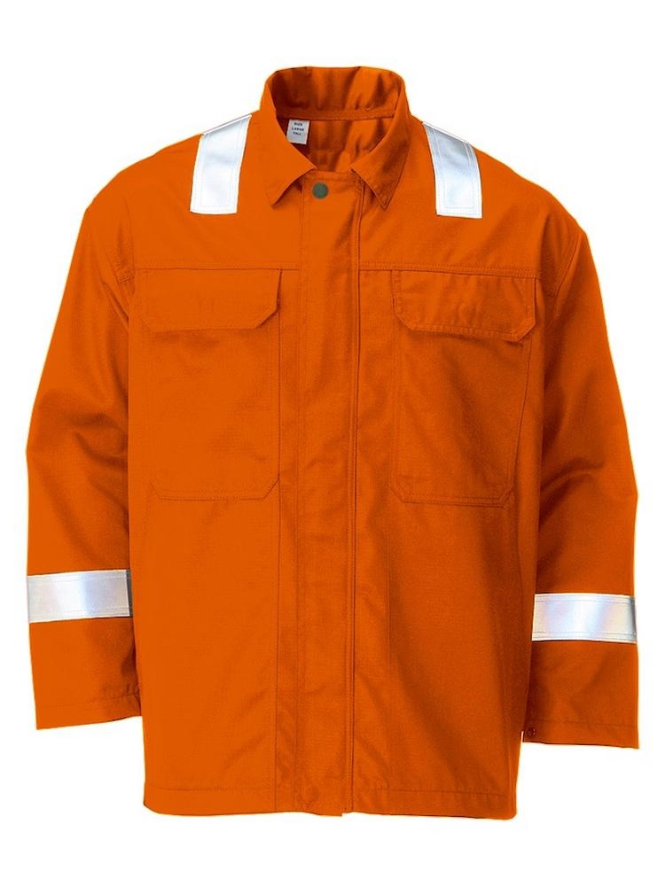 FR Nomex Hi Vis Flame Retardant Jacket Orange 41850-16101-25