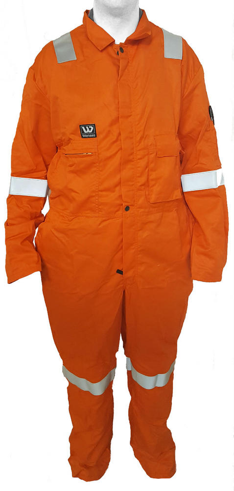 FR Nomex Delta C Coverall Hi Vis Orange With HV Tape