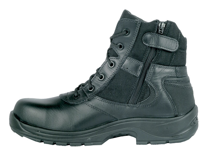 Cofra Police Non Metallic Resistant to +300°C S3 Safety Boot With Side Zip