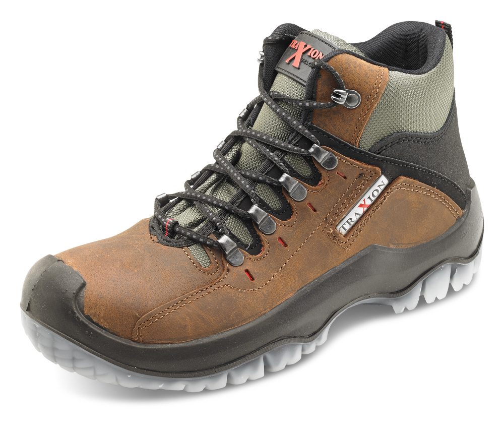 Beeswift TBBR Traxion Brown Boot