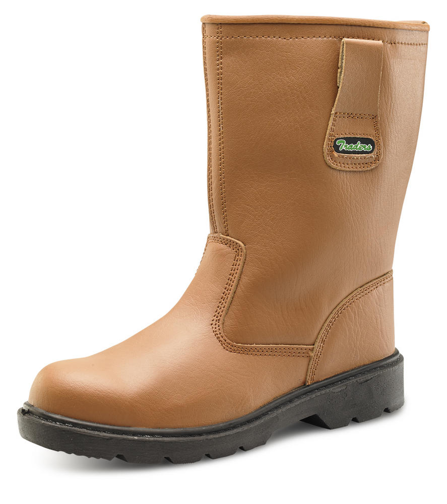 Beeswift Ctf28 Tan 3M Thinsulate Lining S3 SRC Safety Rigger Boot