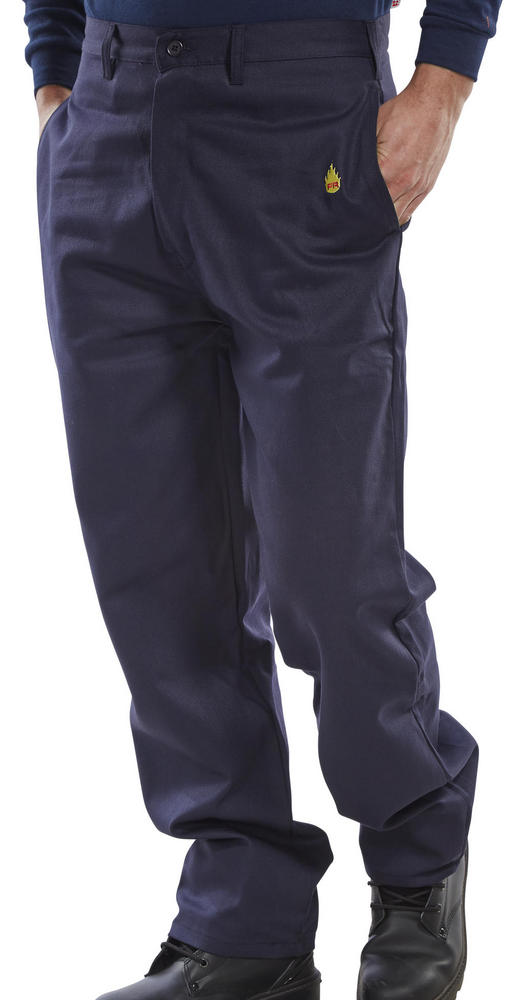 Beeswift CFRT Flame Retardant Navy Trousers
