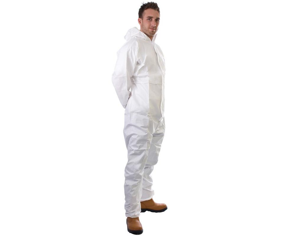 SuperTouch Supertex 17801 5/6 Disposable White Coverall