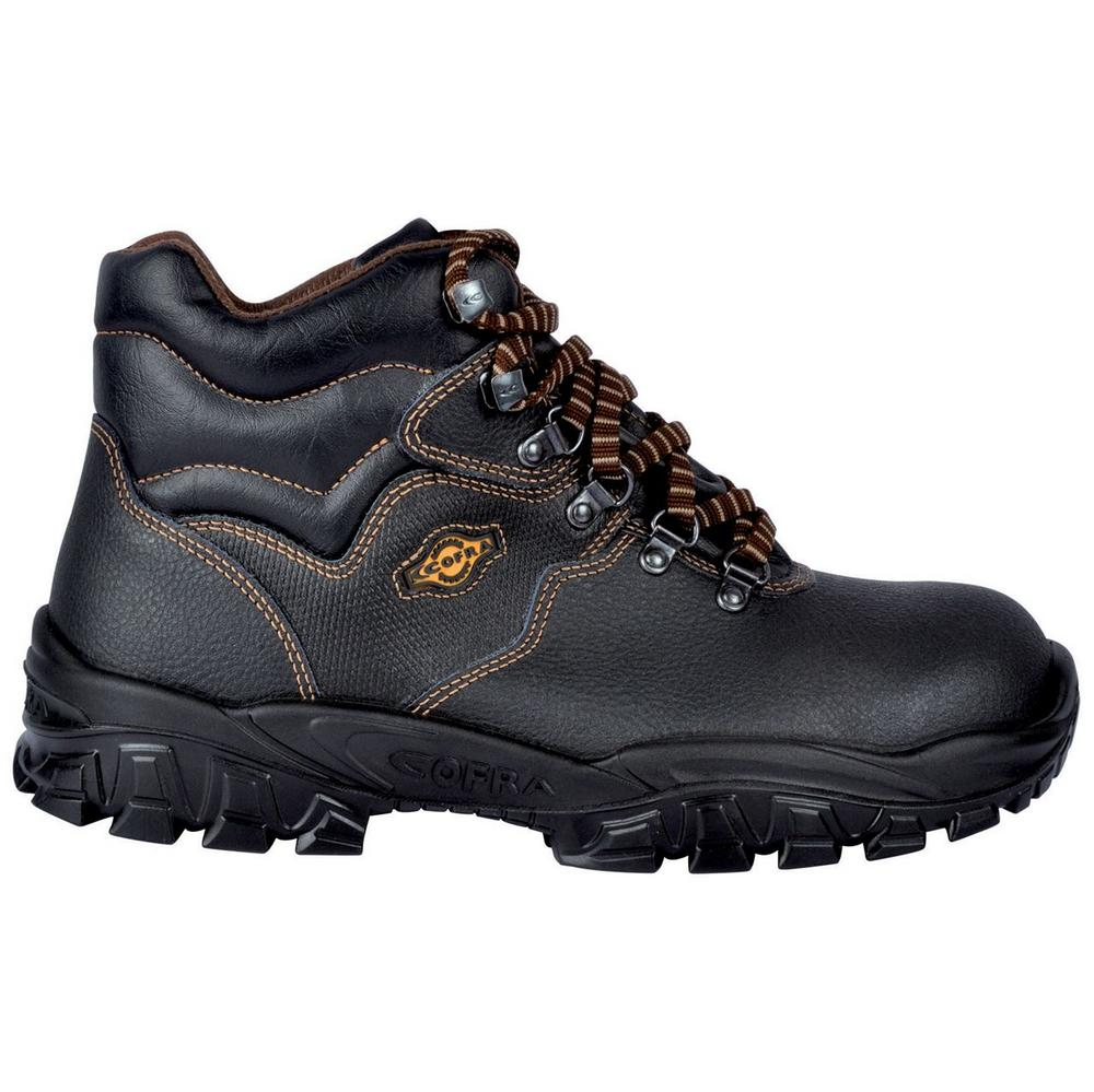Cofra Reno Unisex Antistatic Breathable Steel Toe Cap S3 Black Safety Boot